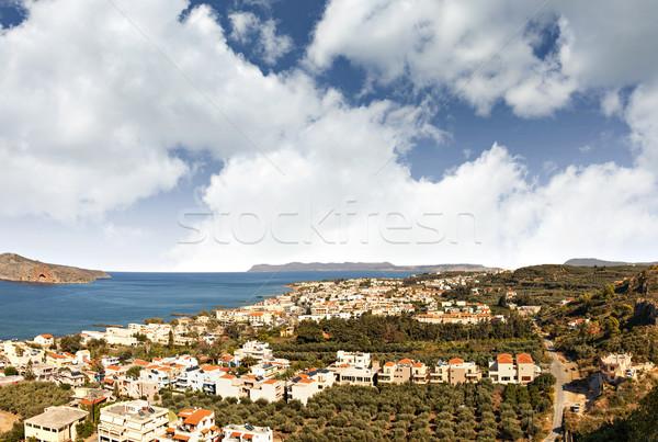 Cretan landscape Stock photo © sophie_mcaulay