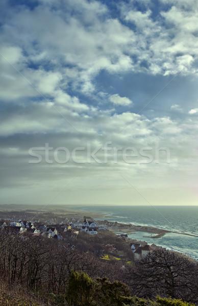 Coastal town Stock photo © sophie_mcaulay