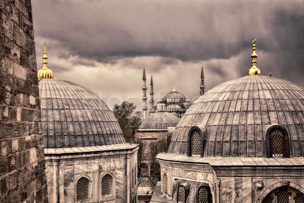 Blue Mosque istanbul Stock photo © sophie_mcaulay