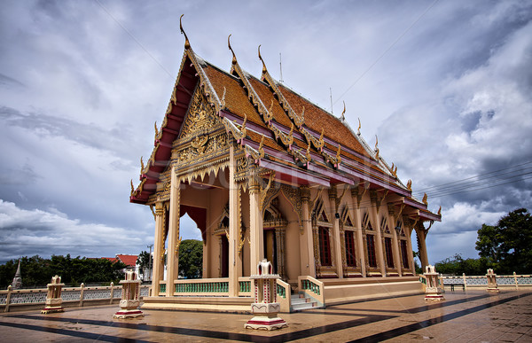 Buddhist temple Stock photo © sophie_mcaulay