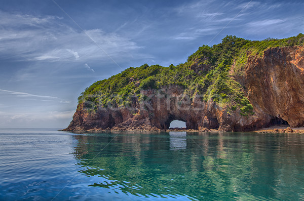 Tropical Asian water landscape Stock photo © sophie_mcaulay