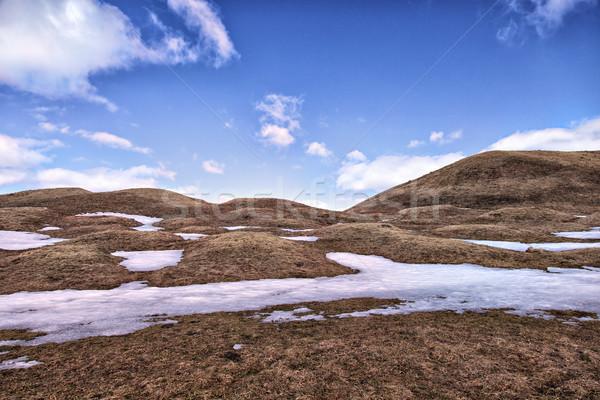 Prehistoric grave mounds Stock photo © sophie_mcaulay