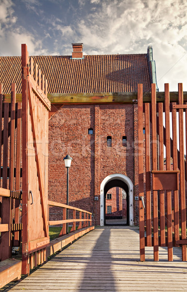 Landskrona citadel in sweden Stock photo © sophie_mcaulay