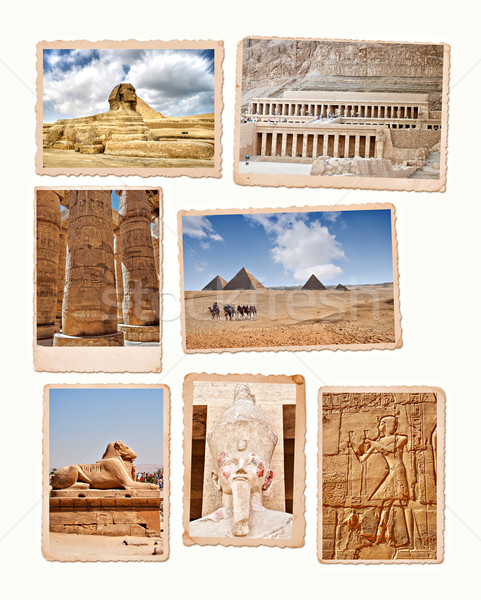Egypt collection Stock photo © sophie_mcaulay