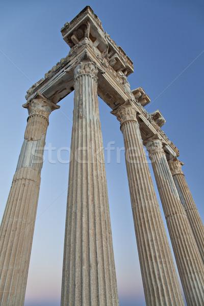 Temple of Apollo Stock photo © sophie_mcaulay