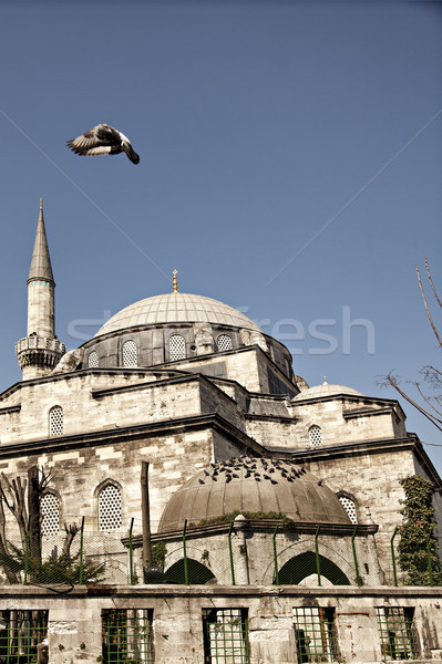 Eminonu Yeni mosque Stock photo © sophie_mcaulay