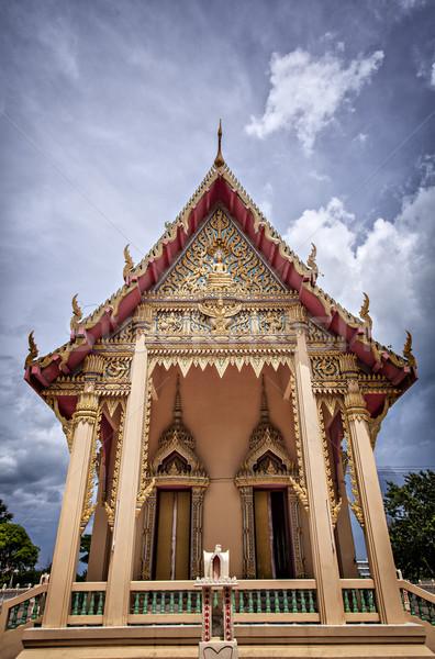 Buddhist temple Stock photo © sophie_mcaulay