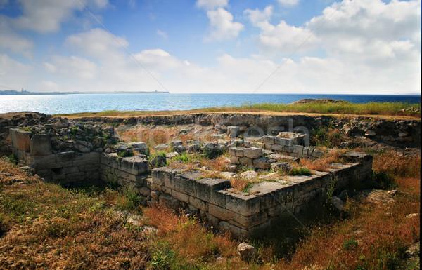 Ancient site of Kalos Limen Stock photo © sophie_mcaulay