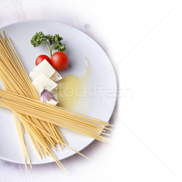 Italian pasta meal ingridients Stock photo © sophie_mcaulay
