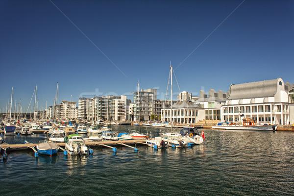 Luxury marina in Helsingborg, Sweden  Stock photo © sophie_mcaulay