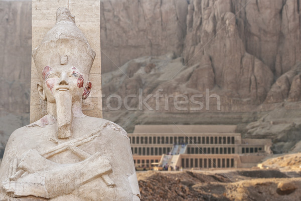 Temple of Hatsepsut in Egypt Stock photo © sophie_mcaulay