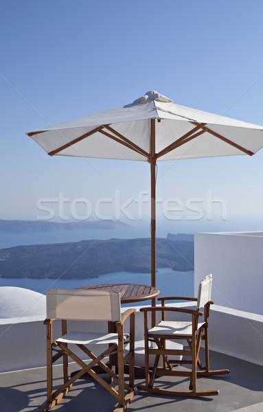 Beautiful Santorini view Stock photo © sophie_mcaulay