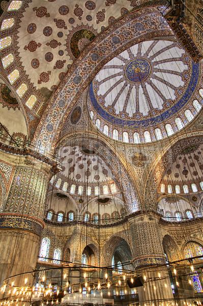 Blue mosque interior Stock photo © sophie_mcaulay