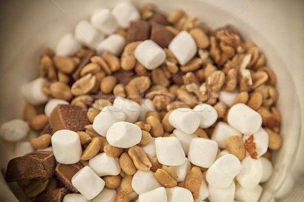 Selection mix of snacks Stock photo © sophie_mcaulay