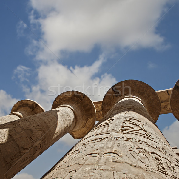 Tempel luxor Egypte oude reizen steen Stockfoto © sophie_mcaulay