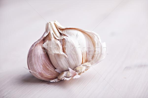 Garlic bulb Stock photo © sophie_mcaulay
