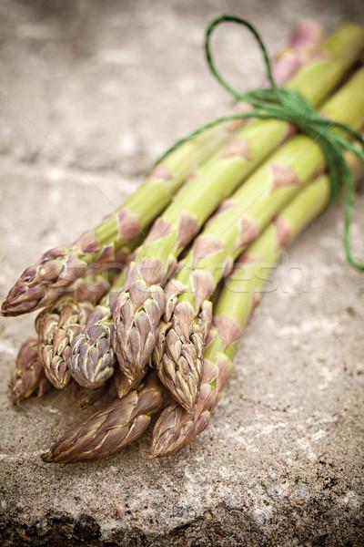 Asparagus bundle Stock photo © sophie_mcaulay