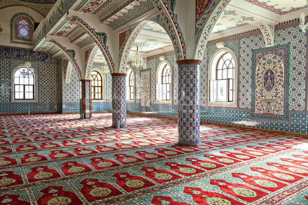 Moschea interni shot città finestra Foto d'archivio © sophie_mcaulay