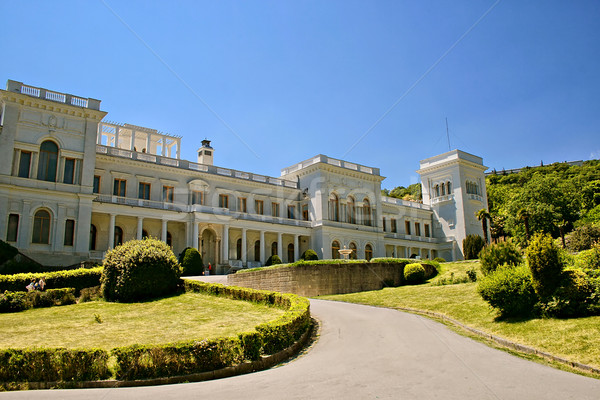 Livadia palace Stock photo © sophie_mcaulay