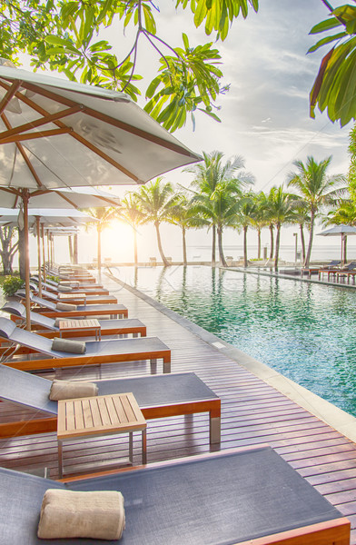 Holiday resort Stock photo © sophie_mcaulay