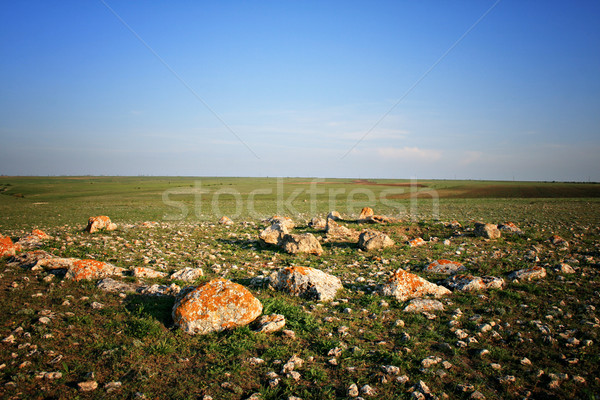 Remains of a stone circle Stock photo © sophie_mcaulay