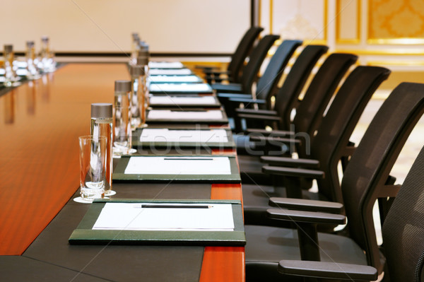 A detail shot of a meeting room Stock photo © SophieJames