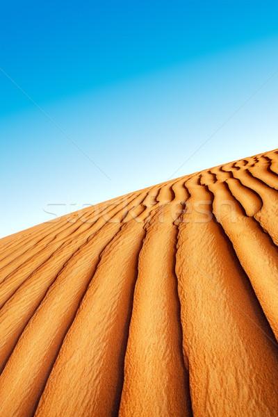 Homok arab sivatag kilátás textúra háttér Stock fotó © SophieJames