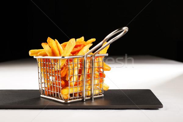 Chips meer brits frans hier Stockfoto © SophieJames