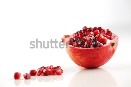 Pomegranate is a fruit associated with most of the middle East Stock photo © SophieJames
