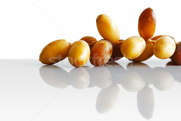 Arabe dates coup blanche fruits célébration Photo stock © SophieJames