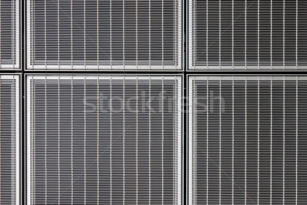 Abstract stainless steel grid Stock photo © SophieJames