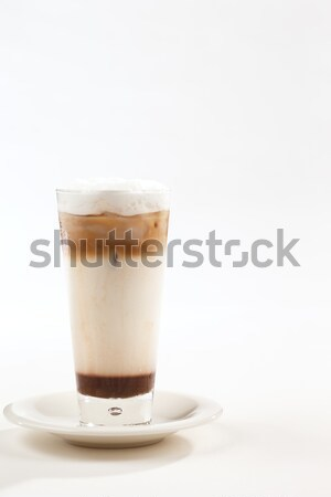 A chilled or iced coffee is a cool summer drink Stock photo © SophieJames