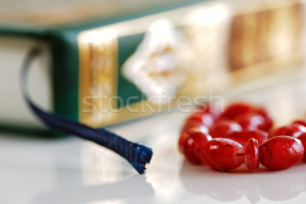 The Masbaha, also known as Tasbih with the Quran Stock photo © SophieJames