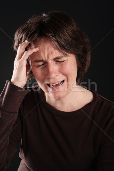 Crying woman Stock photo © soupstock