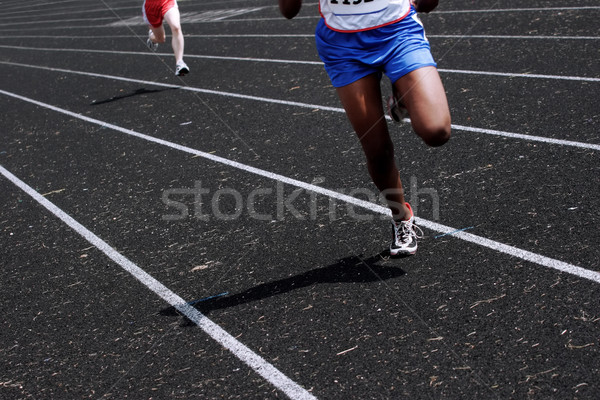 In the lead Stock photo © soupstock