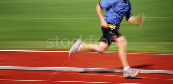Running the race Stock photo © soupstock