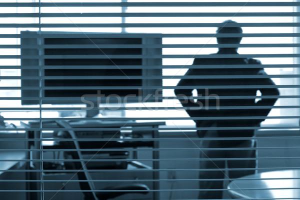 pondering the presentation Stock photo © soupstock
