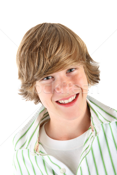 Smiling Teen boy Stock photo © soupstock
