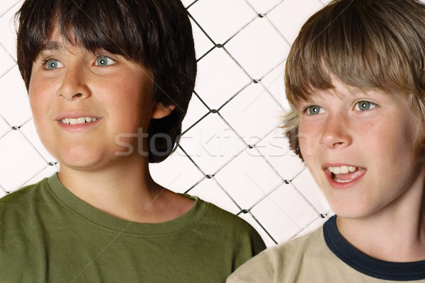 Two friends Stock photo © soupstock