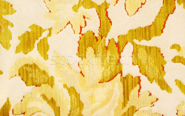 Pattern on a Vintage 70's Couch Stock photo © soupstock