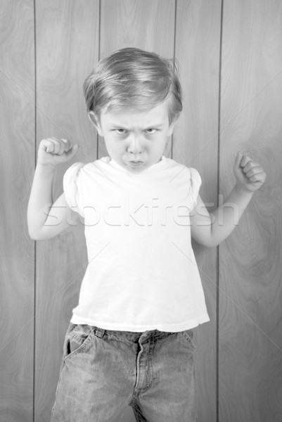 Angry Boy Stock photo © soupstock