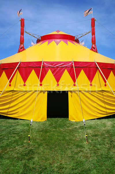 Circus tent Stock photo © soupstock