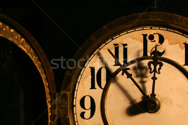antique clock face Stock photo © soupstock