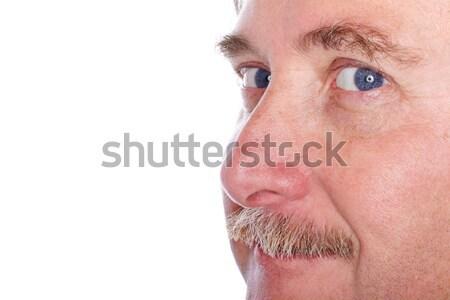 Closeup of a man's face Stock photo © soupstock