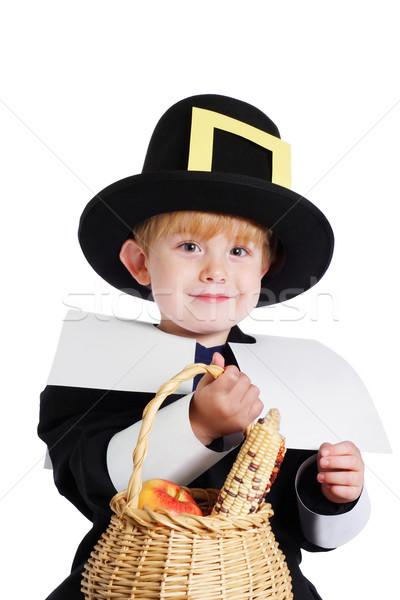 Erkek hacı kostüm yaş Stok fotoğraf © soupstock