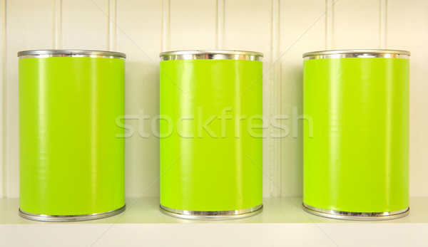Tres metal plataforma disenador pueden propio Foto stock © soupstock
