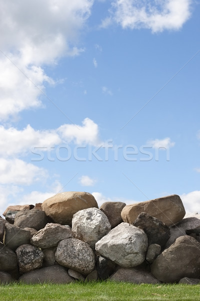 Stone Wall Stock photo © soupstock