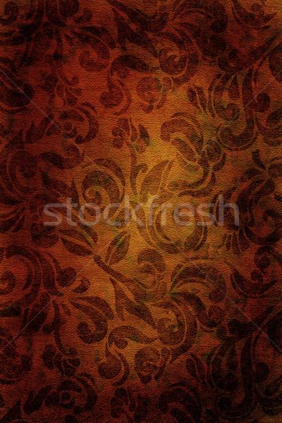 Vintage złoty tapety tekstury Zdjęcia stock © soupstock