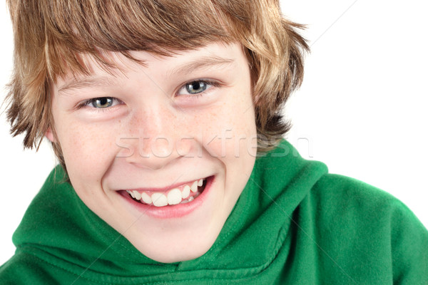 Smiling  boy Stock photo © soupstock