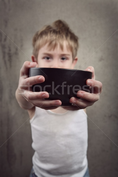 Stock photo: Hunger